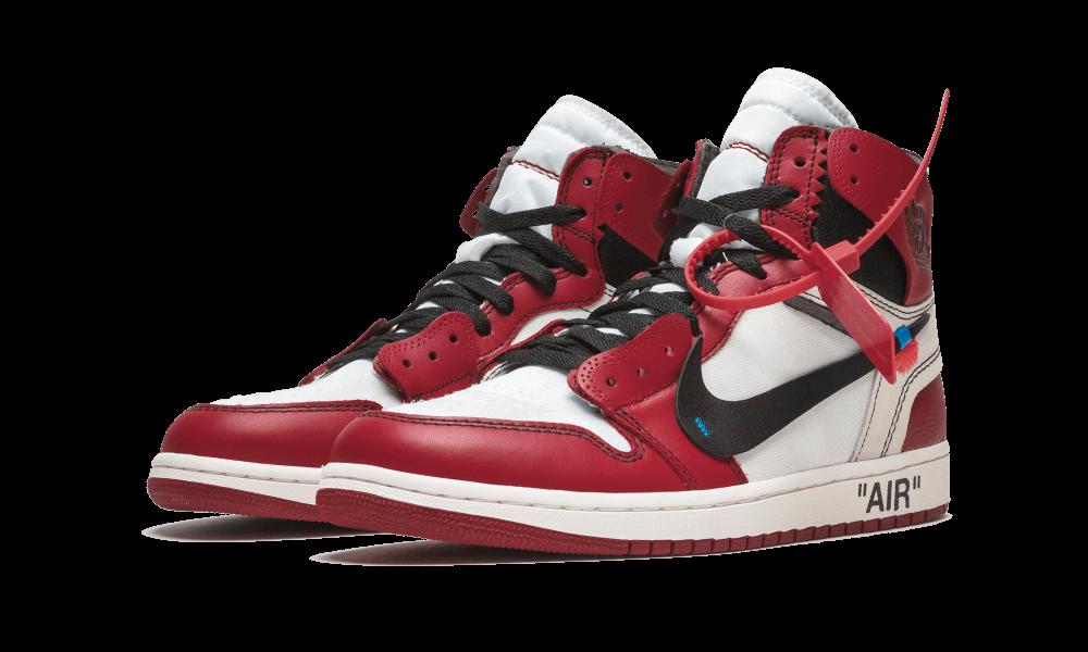The 10 Air Jordan 1 Off White Chicago Aa3834 101 Air Jordans Sneakers Men Fashion Sneakers