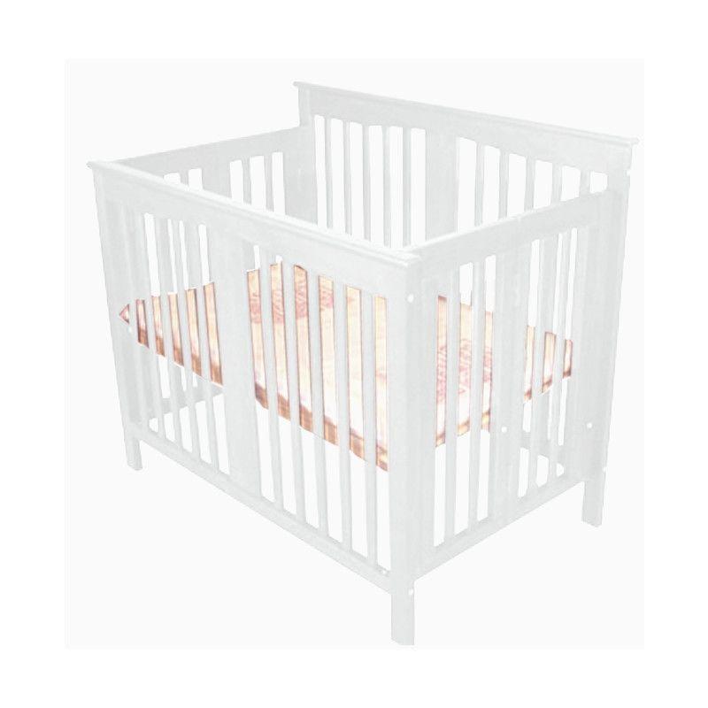 line foldable mini crib white nursery pinterest mini