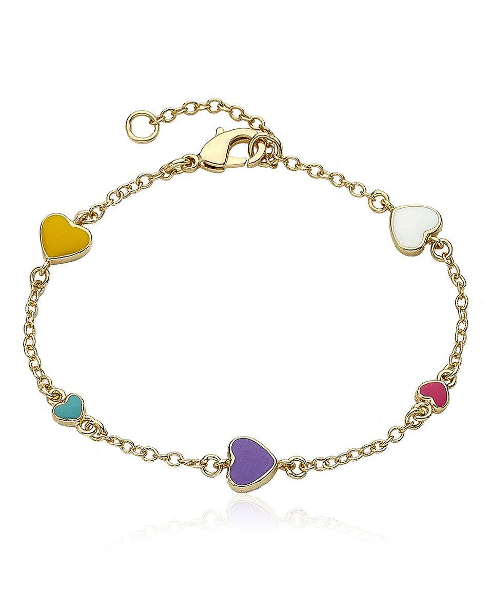 Loving this little miss twin stars gold i love my jewels bracelet on