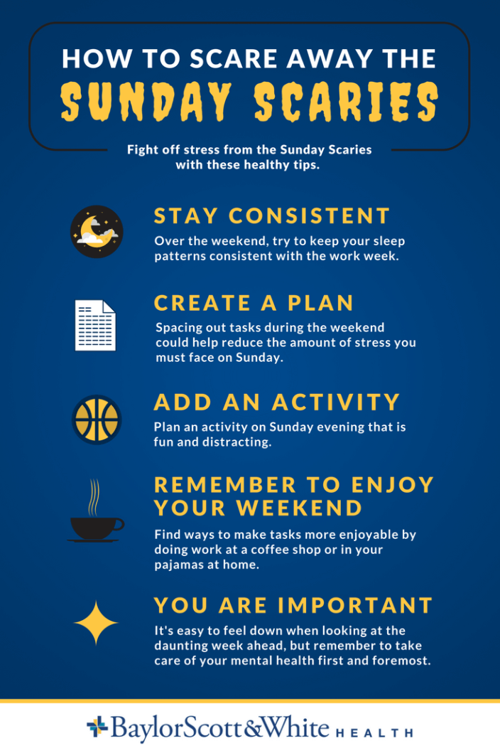 How To Scare Away The Sunday Scaries Sunday Scaries Healthy Mindset Sleep Pattern