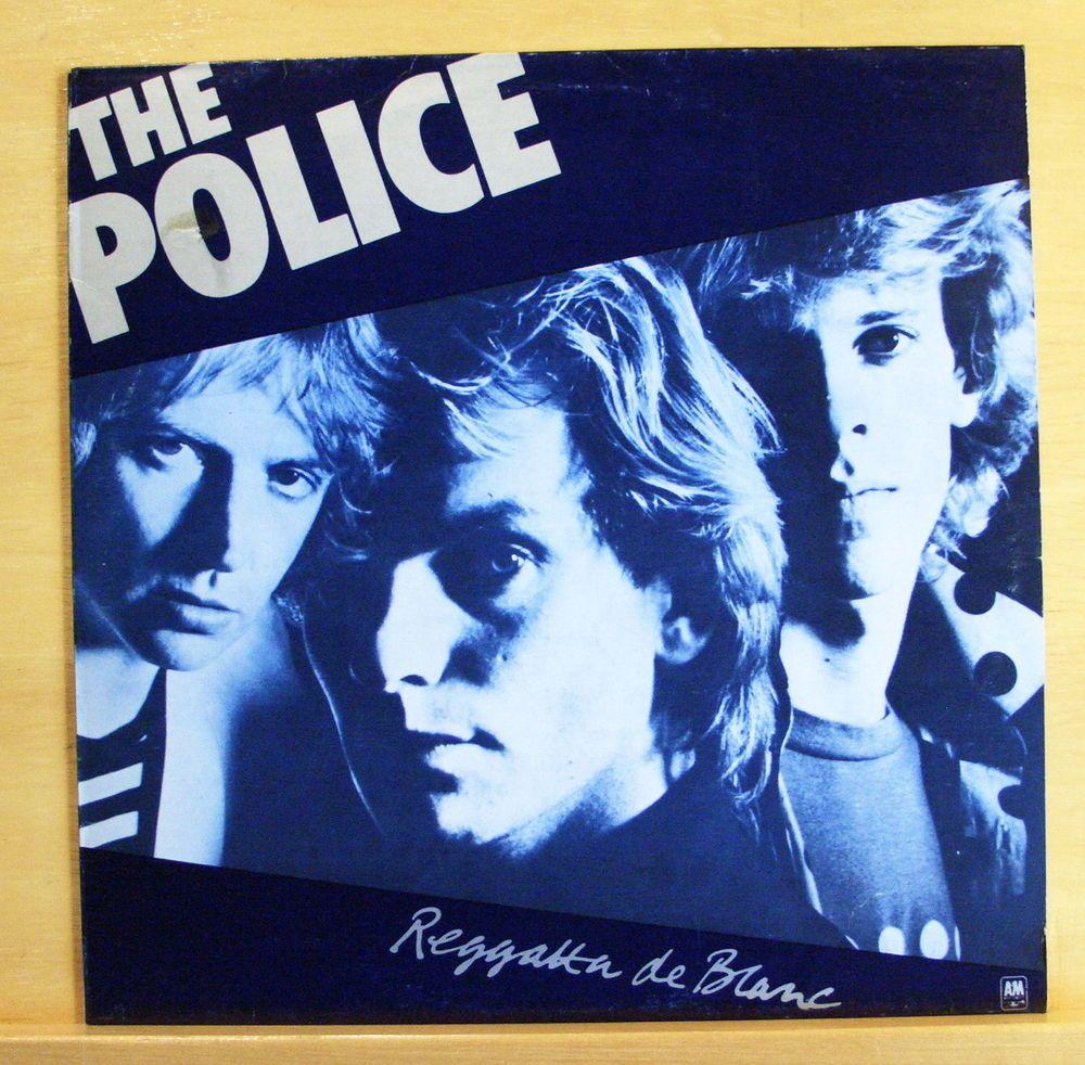 The Police Reggatta De Blanc Vinyl Lp Message In A