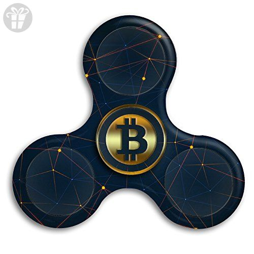 Bitcoins Hand Spinner Fingertip Gyro Stainless Steel Bearing For ADHD Focus Anxiety Relief Toys
