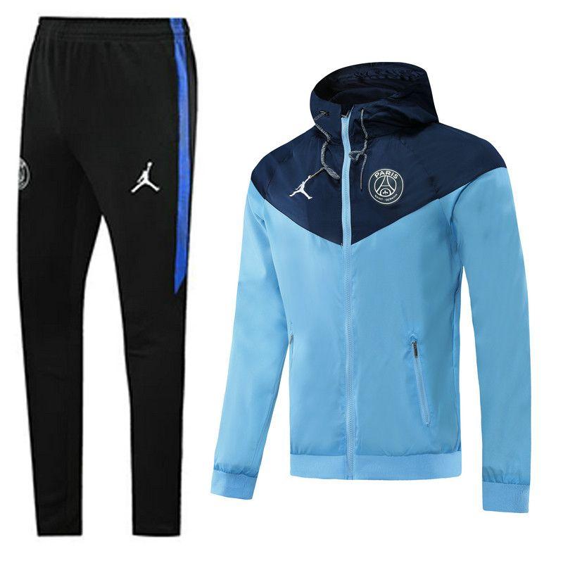 2020 2021 paris sg blue trench coats