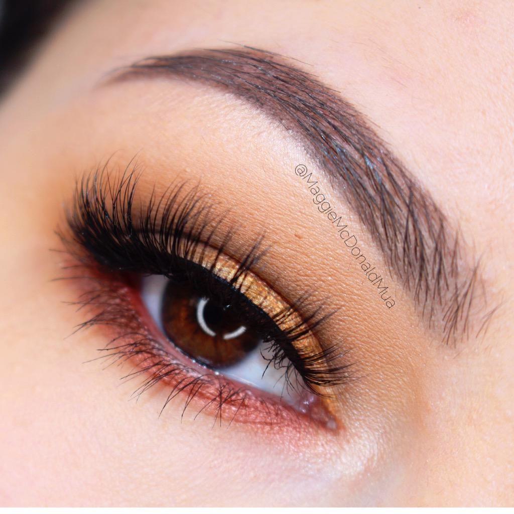 Stunning look by Maggie Mcdonald using Makeup Geek's Vegas