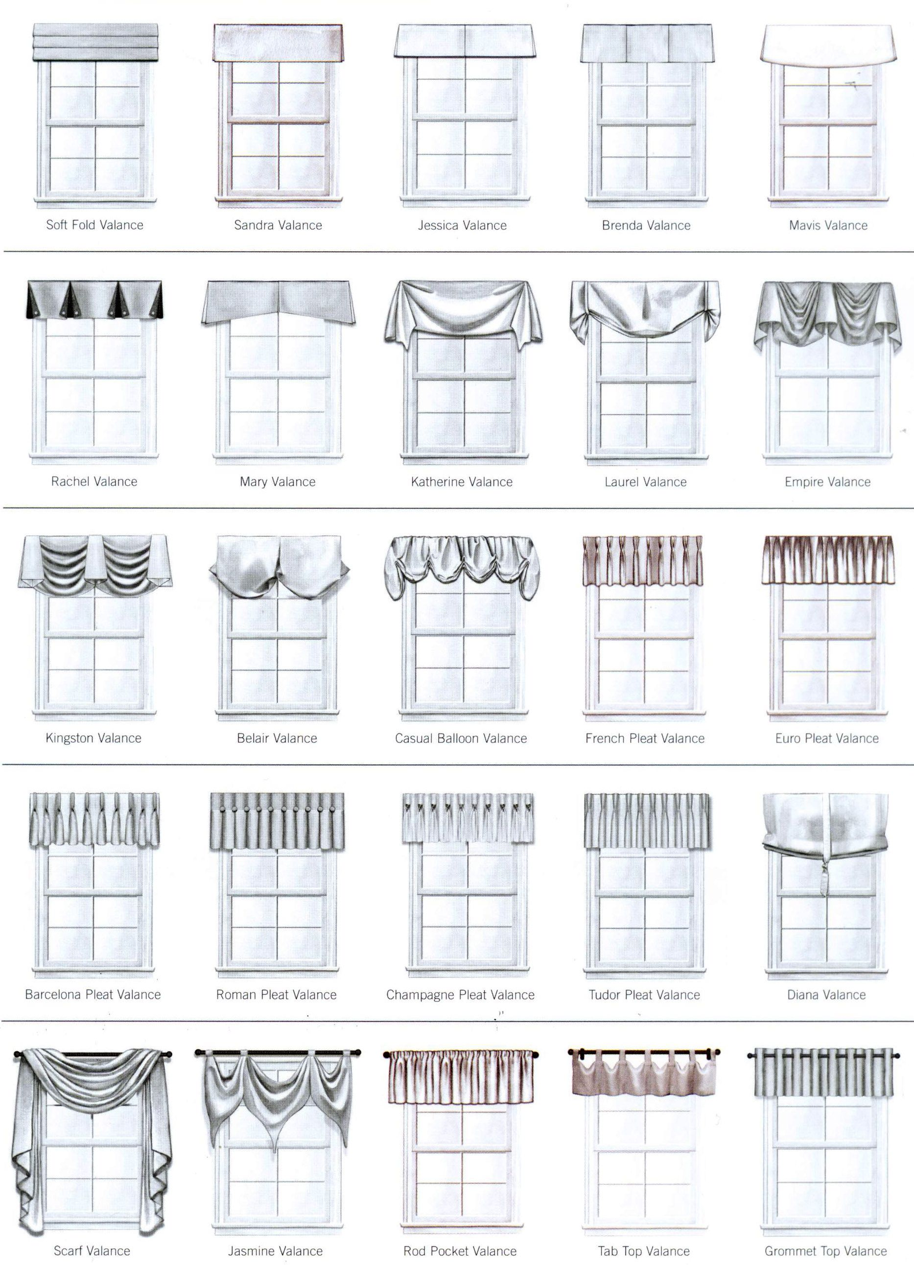 Castec Draperies Castec Valance Styles Valance Window Treatments Drapery Styles Valance Patterns