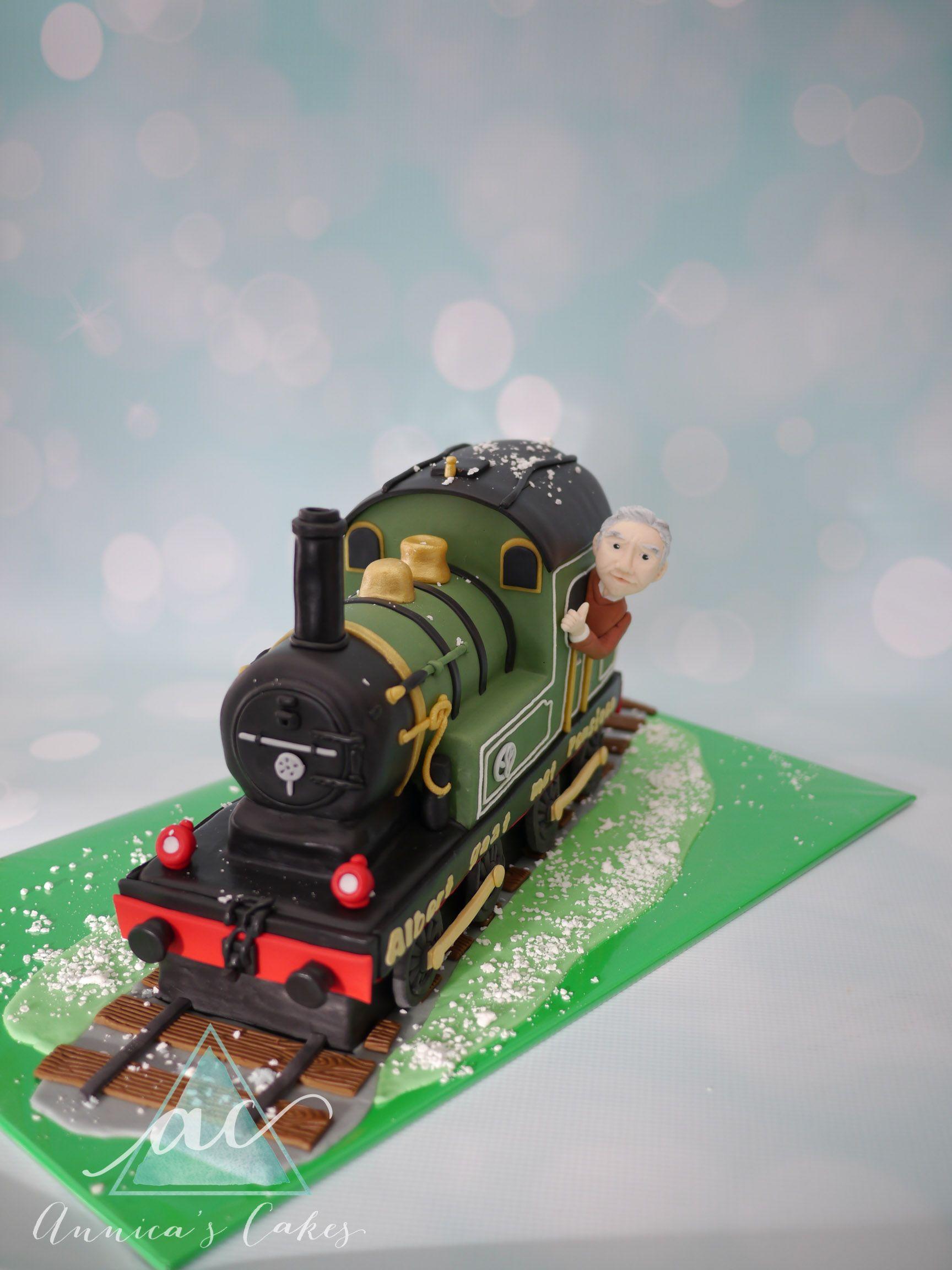 3d Train Cake 3d Trein Taart