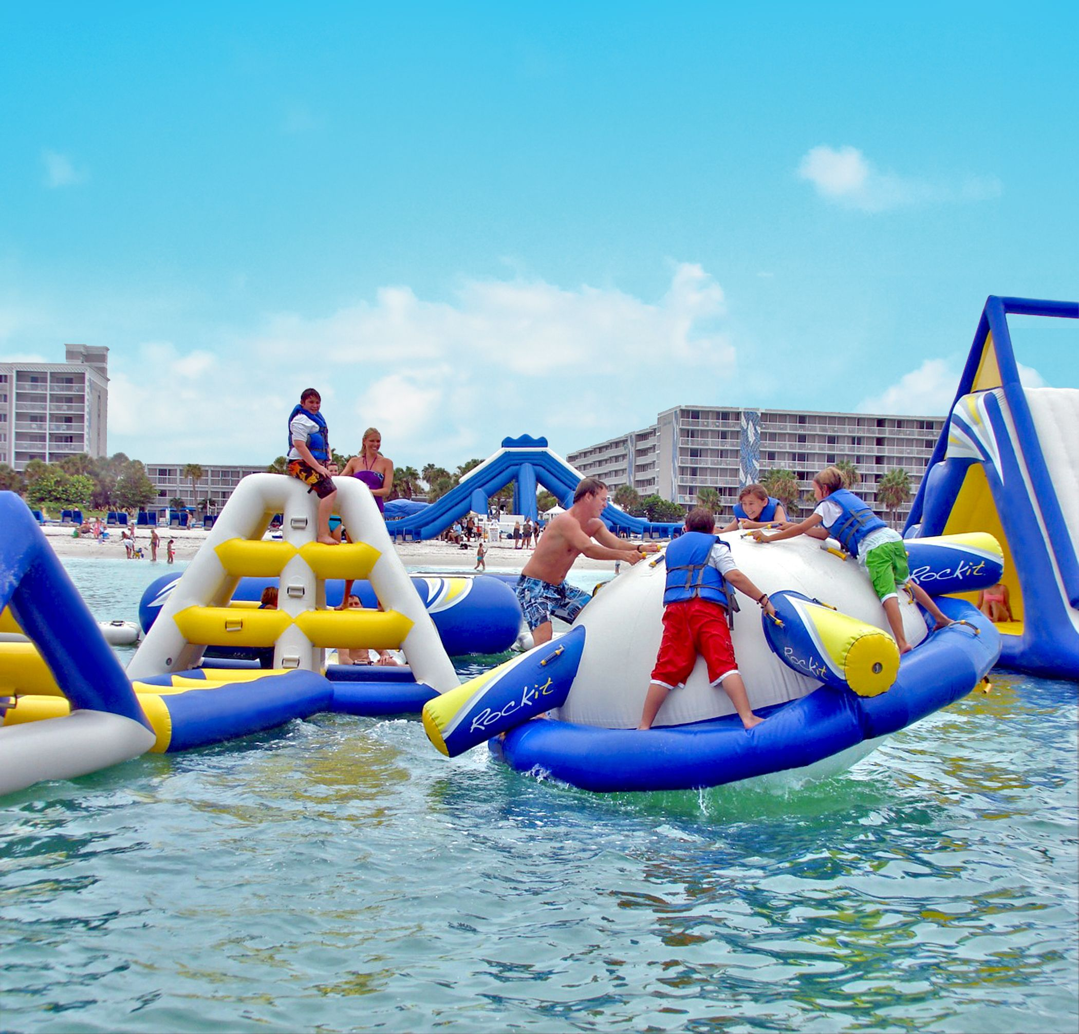 Hotels With Slides In St Pete Beach Florida