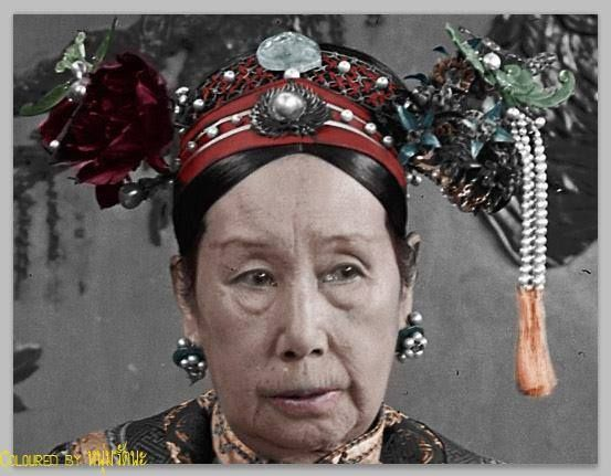 Recolor of Closed up with Dowager Cixi