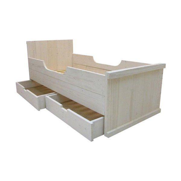 einzellbett aus holz kinderbett woodenfactory von woodenfactory auf boys. Black Bedroom Furniture Sets. Home Design Ideas