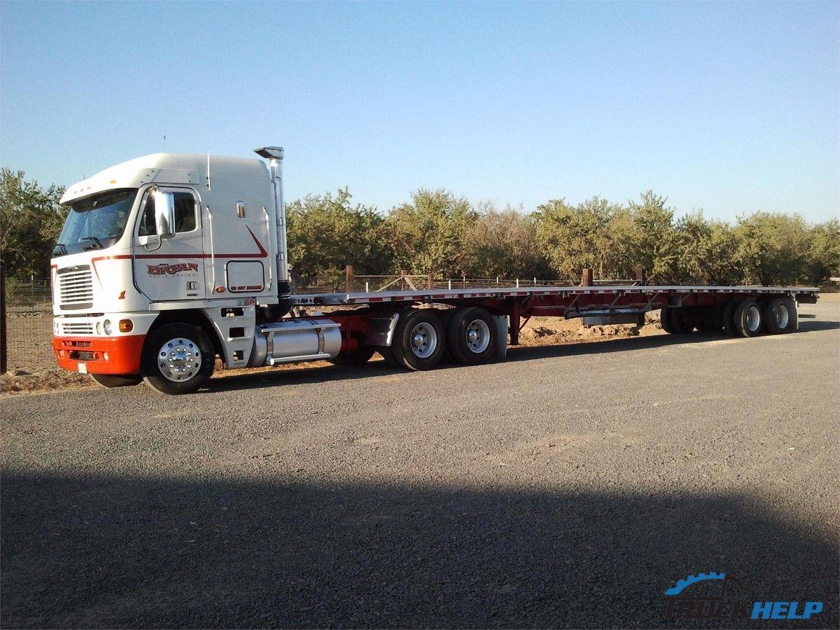 2007 Freightliner Argosy Truck For Sale Freightliner Trucks Trucks For Sale
