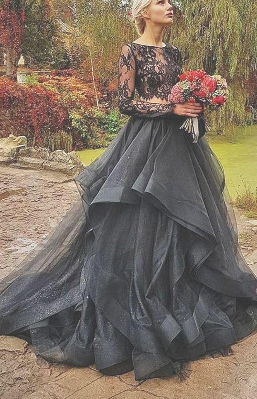 Fundamental Aspects Of Black Wedding Dresses For Adults In 2021 Black Wedding Dresses Illusion Lace Wedding Dress Black Wedding Gowns [ 1163 x 750 Pixel ]
