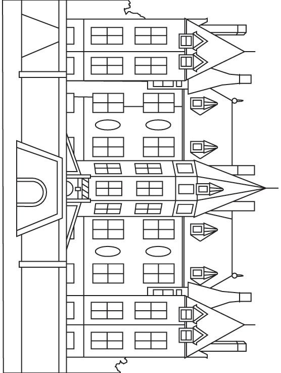 Mansion Coloring Page Jpg 556 737 Coloring Pages Coloring Pages For Kids Printable Coloring Pages