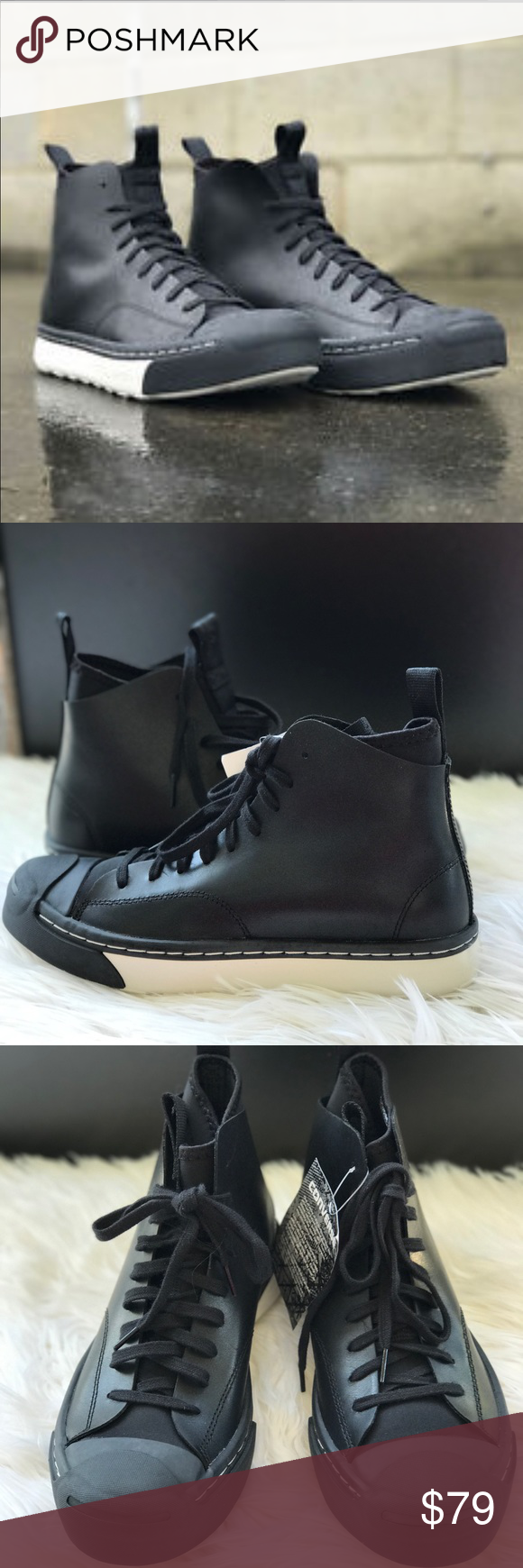 7313f1fd9ce8 Converse JP-Series Sneaker Boot HI Black WMNS Brand new with box
