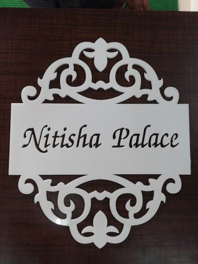 Brass Name Plate Designs For Home Nameboard