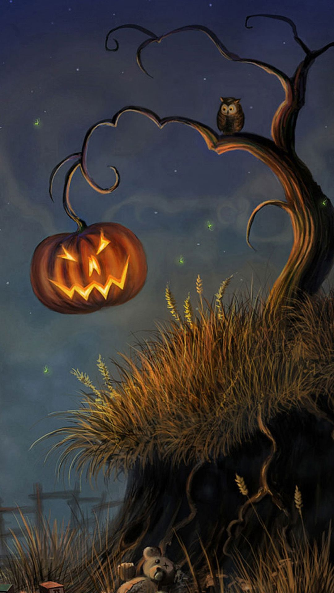 Free Holiday Samsung Wallpapers Part 5 Halloween Pictures Halloween Painting Halloween Art