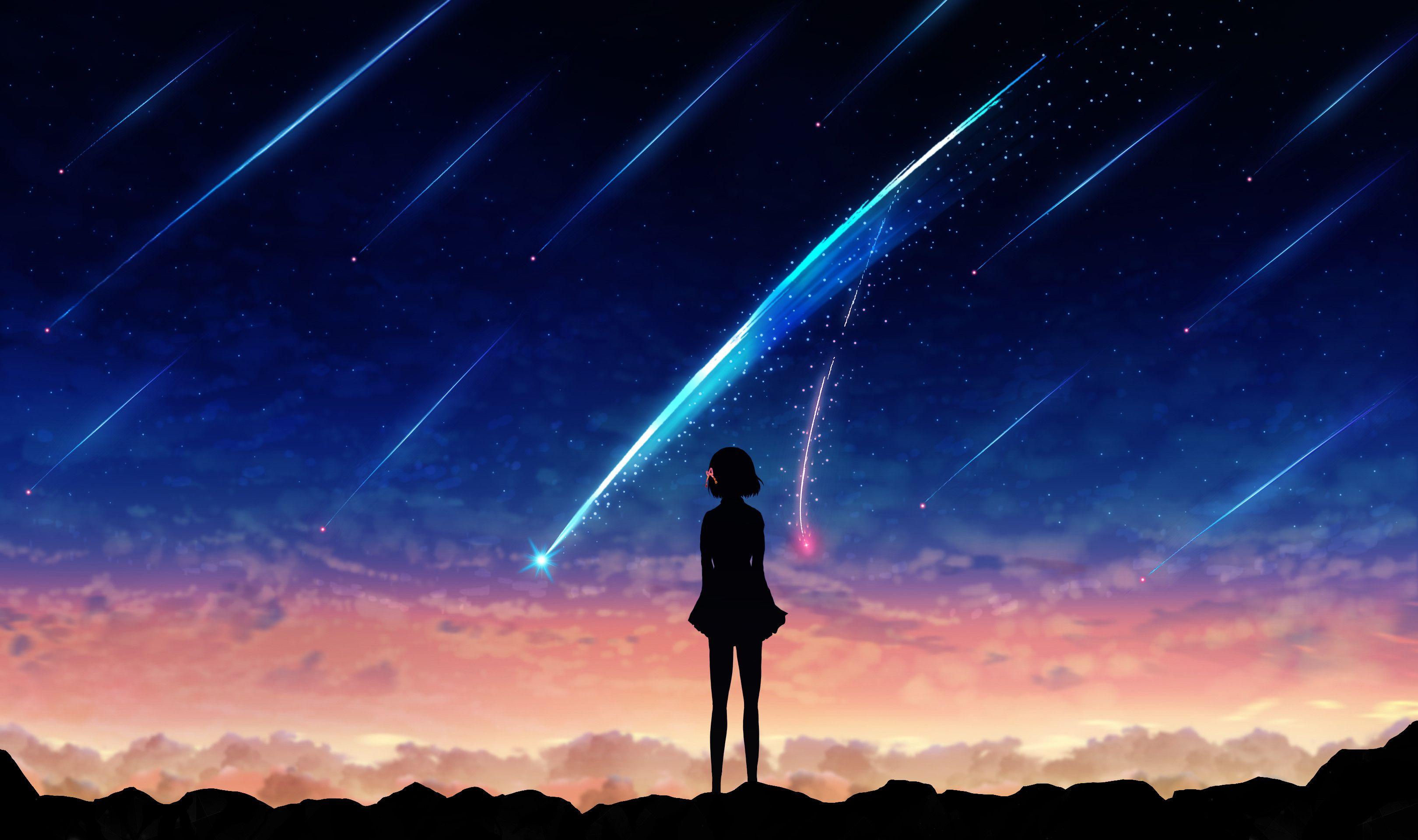 3240x1920 Anime Your Name. Mitsuha Miyamizu Kimi No Na