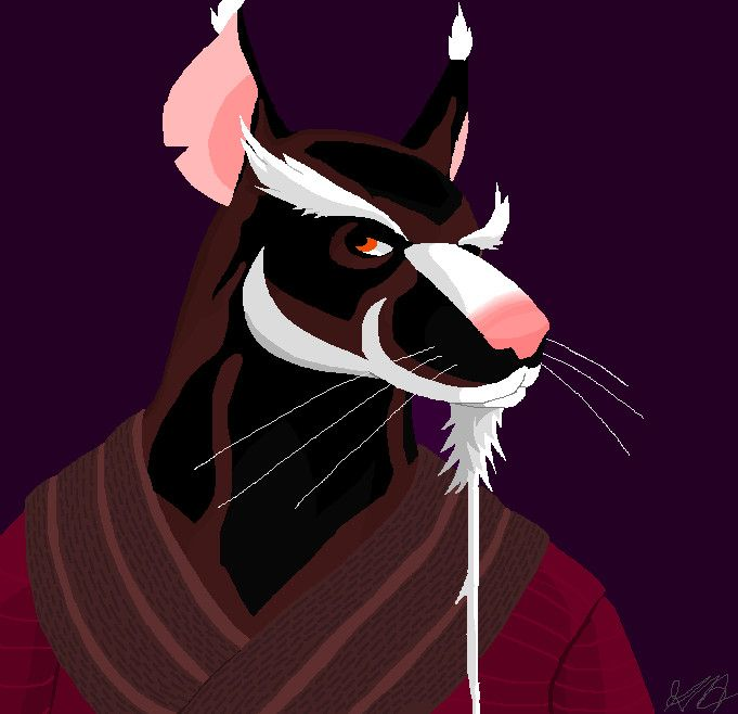 Master Splinter 2012 By Artsicat13 On Deviantart Tmnt Characters