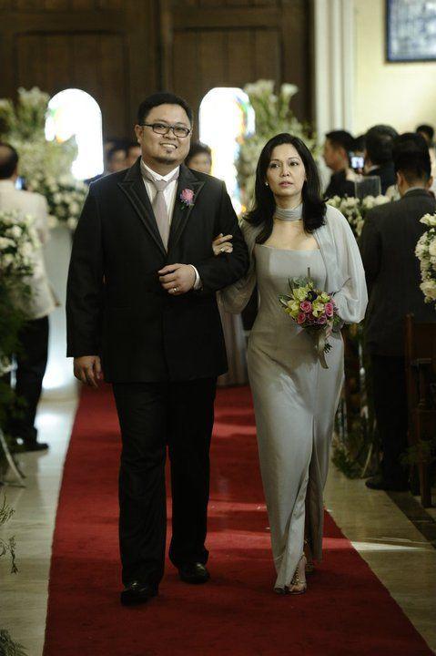 Roxanne Guinoo wedding pictures: Maricel Soriano as \