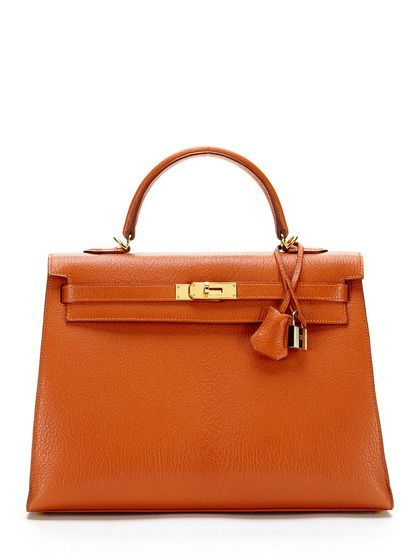 Potiron Chevre De Coromandel Sellier Kelly 35cm by Hermès at Gilt ... 3c41b694fabe5