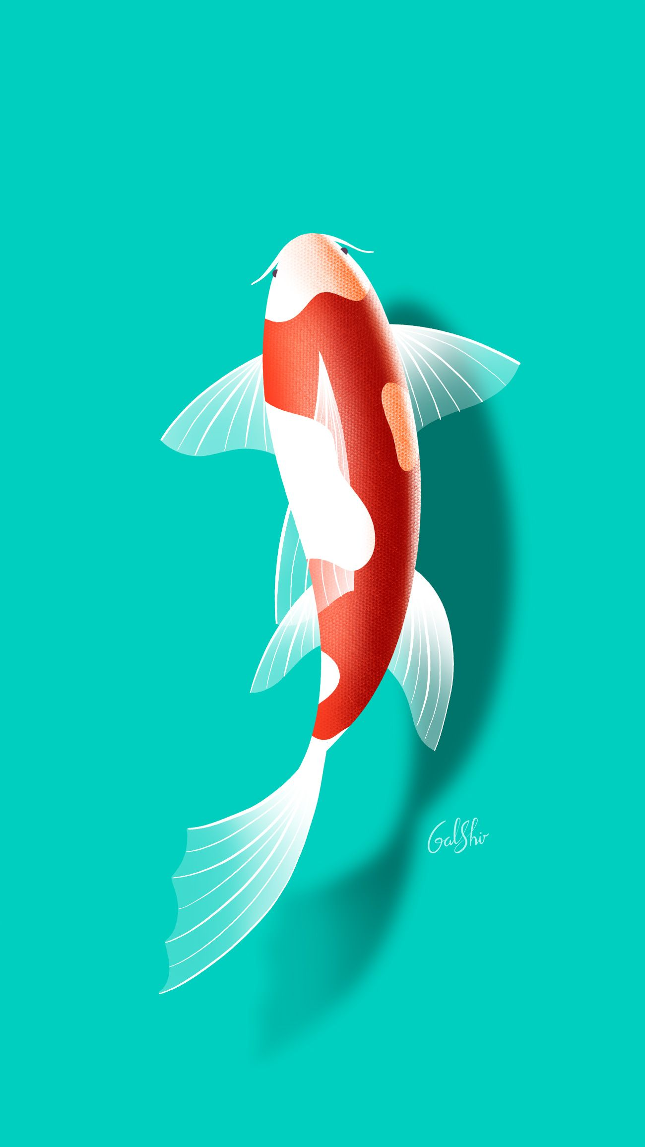 Pin By Emilia Medema On Wallpapers Iphone Wallpaper Fish Wallpaper Wallpaper