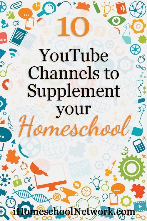 10 YouTube Channels to Supplement your Homeschool • iHomeschool Network