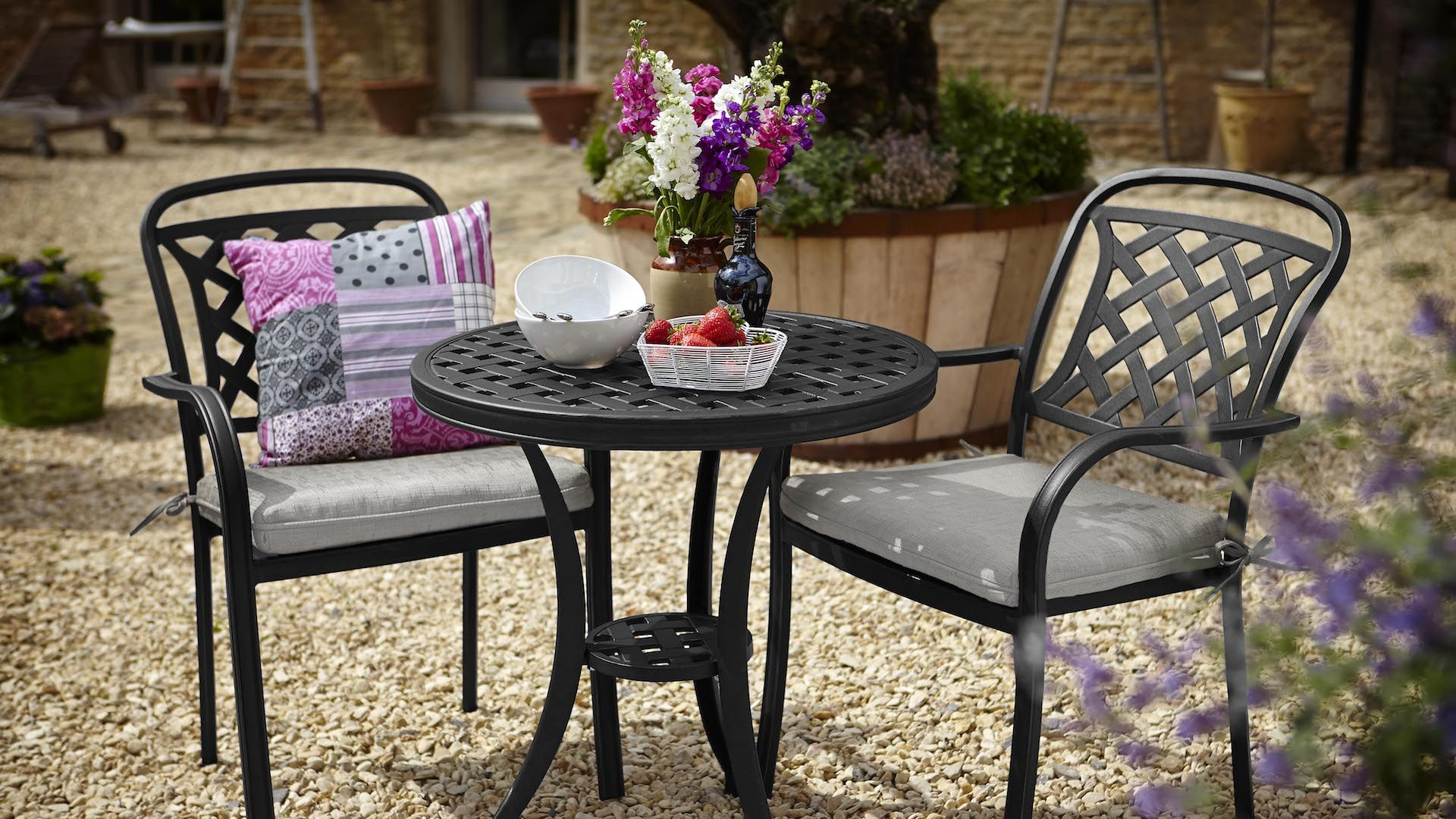 Berkeley Bistro Set | Hartman Cast Aluminium Garden Furniture ...