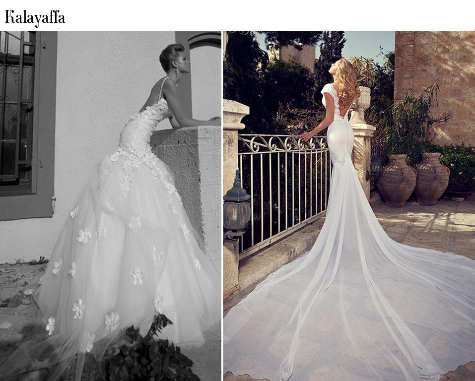 Os 40 vestidos de noiva sereia mais lindos dos últimos tempos