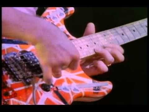 Eddie Van Halen Guitar Solo Avi Youtube Eddie Van Halen Van Halen Guitar Solo