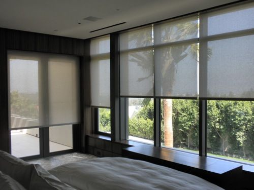 10 Gorgeous Window Treatments Contemporary Roller Blinds Blinds For Windows Living Room Blinds