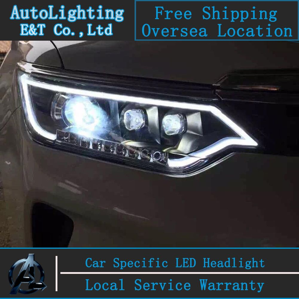 Car Styling Led Head Lamp For Toyota Camry Headlight New Camry V55