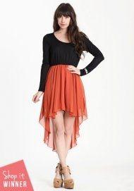 Bittersweet Colorblock Dress - StyleSays