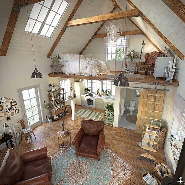 Wonderful Luxus Lebensstil, Kleine Häuser, Mikrohäuser, Kleine Schränke, Gehöfte,  Träume, Dekoration, Innenräume, Eifersucht