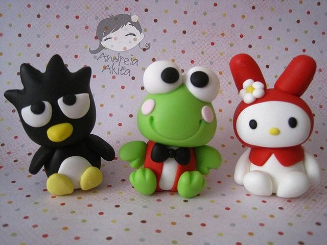 Hello Kitty Badtz Maru Polymer Pinterest Porcelana