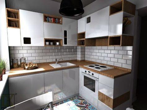 Model Kabinet Dapur Dari Kayu Minimalis Modern Terbaru 2015