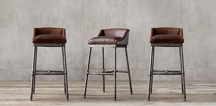 Rh S Leather Chair Collections