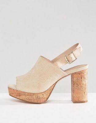 Compra Sandalias de tacón de corte ancho TAMMY de ASOS en ASOS. Descubre la  moda online.
