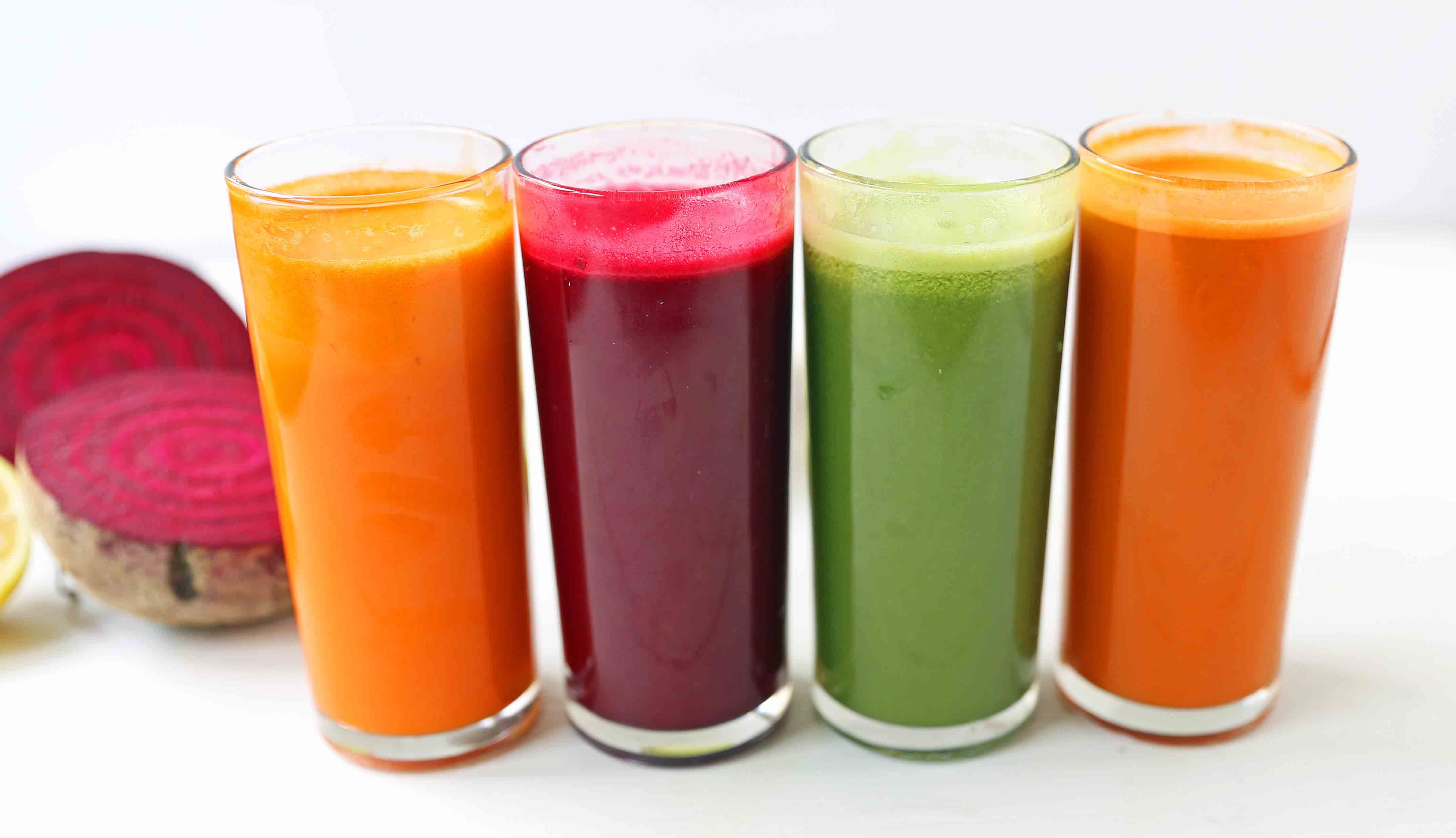 Healthy Juice Cleanse Recipes Four Health Fresh Fruit And