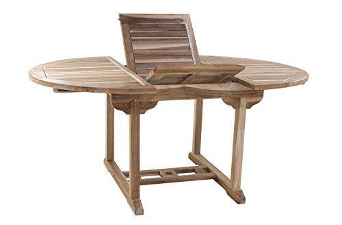 SAM Teak-Holz, Gartenmöbel, ideal für Balkon oder Garten ...