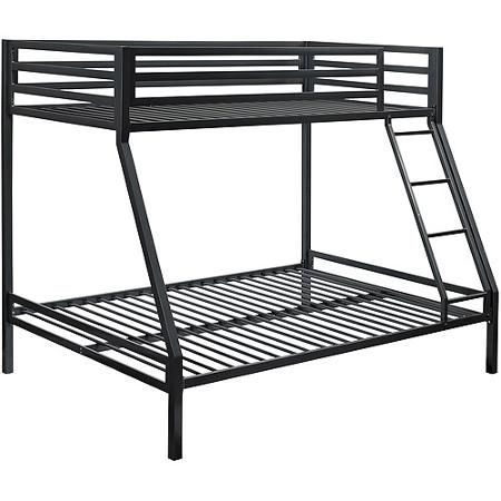 Your Zone Premium Twin Over Full Bunk Bed Multiple Colors
