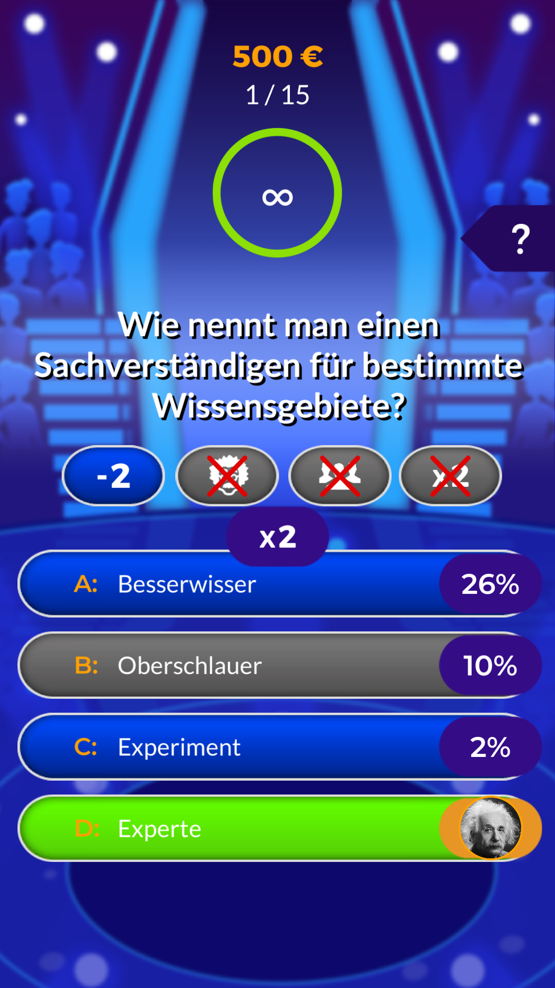 Millionär 2019 Deutsche Trivia Quiz die kostenlose
