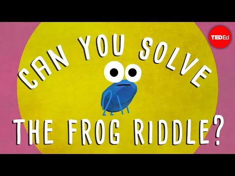 Can you solve the frog riddle? Derek Abbott YouTube in