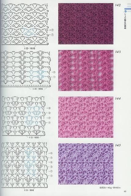 Punto Uncinetto 341 Schemi Pinterest Crochet Crochet Scarfs