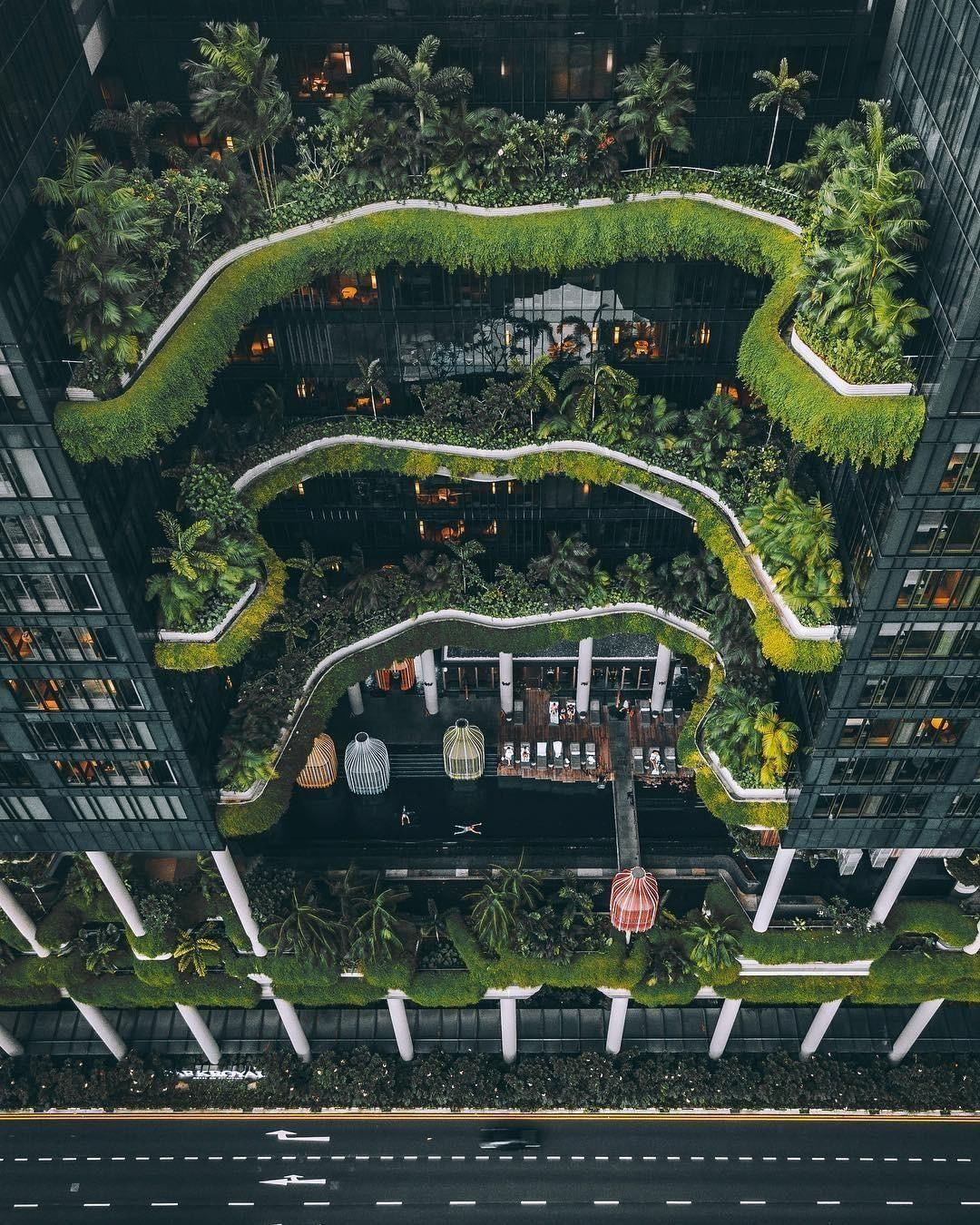 Articture On Instagram Parkroyal On Pickering A Luxury Hotel In Singapore Would You Book Accommo Singapore Architecture Park Royal Singapore Urban Habitat