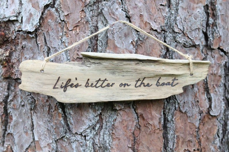 Custom Quote Wood Burned Sign