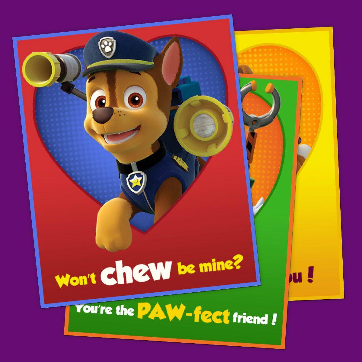 16ct Valentines Day PAW Patrol Puzzles