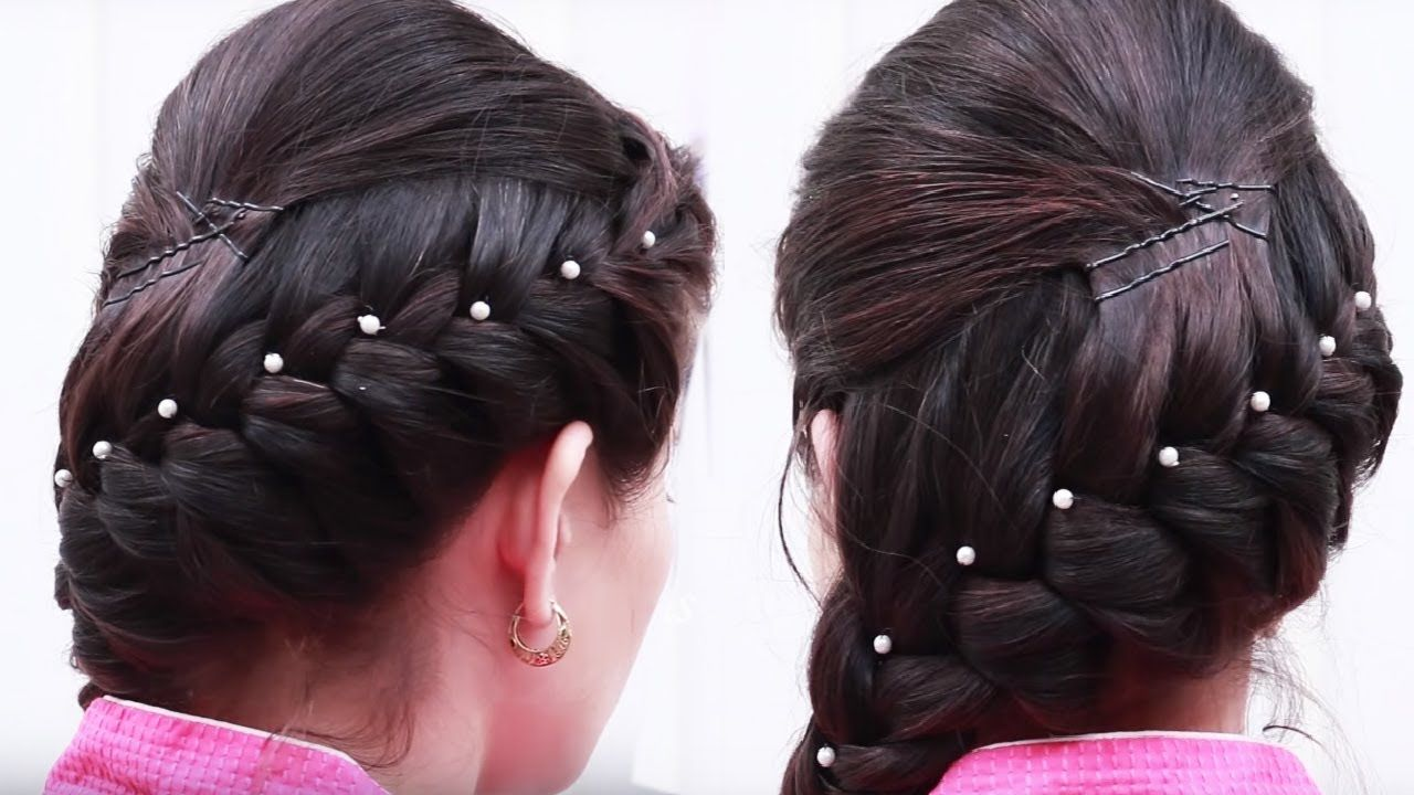 New Concept 24 Puff Hairstyle With Bun Step By Step In 2020 Easy Hairstyles Hair Puff Everyday Hairstyles