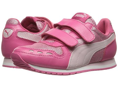 Puma Kids Cabana Racer Glitter V PS (Little Kid Big Kid)  31c50956b