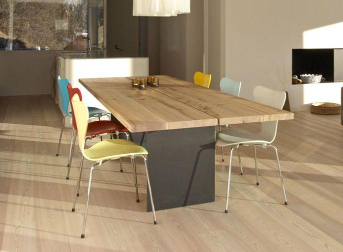 Mesa de comedor / moderna / de madera / de exterior - TIX - Mobimex ...