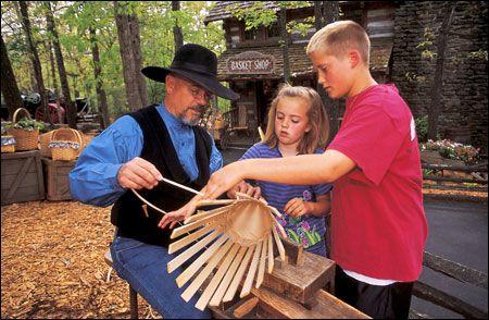 Silver Dollar City's annual craft festival (now their harvest festival)