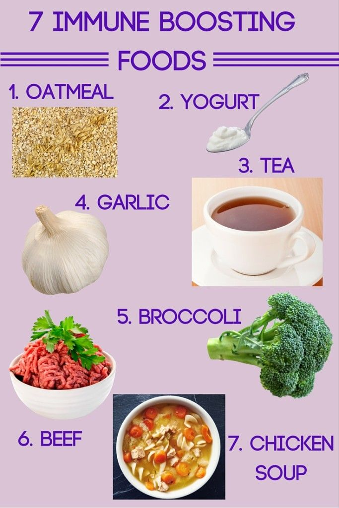Immune boosting foods for adults